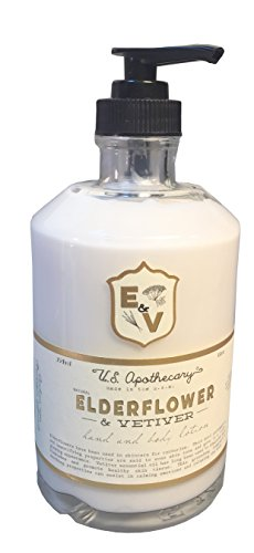 U.S. Apothecary Elderflower and Vetiver Body and Hand Lotion ()
