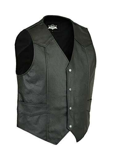 Homme Star Leather Noir Gilet Star Leather Y8gqvv