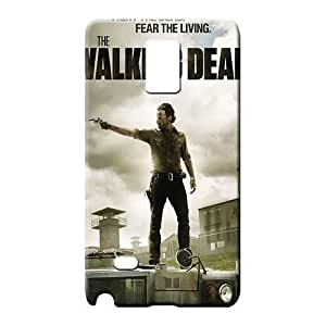 samsung note 4 Protection Unique Back Covers Snap On Cases For phone cell phone case the walking dead poster