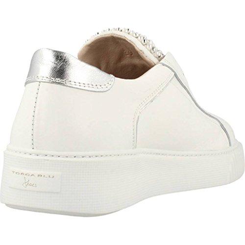 Tosca Blu Damen Flamenco Sneaker Weiß (Bianco C00)