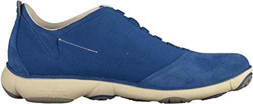 hombre NEBULA Royal U B de zapatilla cuero Blau deportiva Geox 0qgyapp