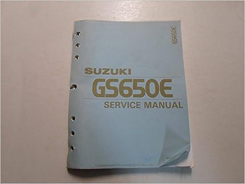 repair manual suzuki gs650e