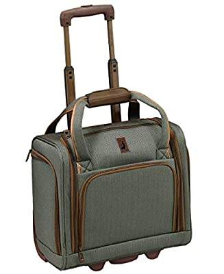 "London Fog Newcastle 15"" Under The Seat Bag, Slate Bronze"