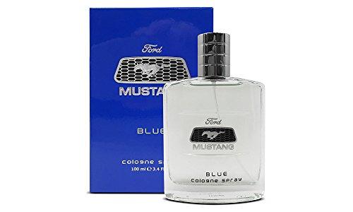 Mustang Cologne Blue - Mustang Blue Fragrance for Men, 3.4 Ounce