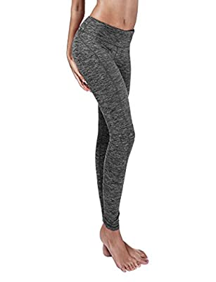 Yoga Reflex - Yoga Pants for Women - Running Yoga Pant Leggings - Hidden Pocket