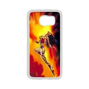 Steve-Brady Phone case Wonder Woman Protective Case For Samsung Galaxy S6 Pattern-18