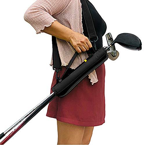 LIOOBO 1 PC Mini Golf Club Cover Portable Mesh Putter Case Protector Golf Club Bag Carrier Pouch
