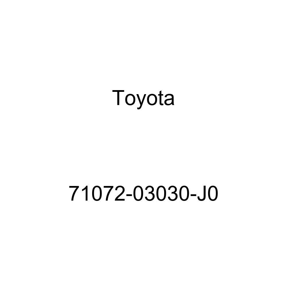 TOYOTA Genuine 71072-03030-J0 Seat Cushion Cover