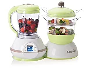 Babymoov Nutribaby 5 in 1 Baby Food Maker, Zen Green