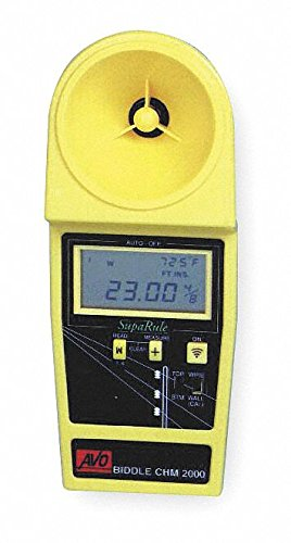 Cable Height Meter, 7 to 35 ft. Range @ 1/2 In. Min. Cable Dia.