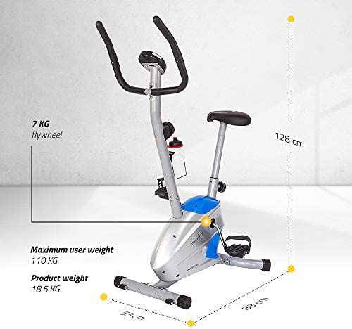 TechFit Velocity Bicicleta estática de Ejercicio, Magnética ...