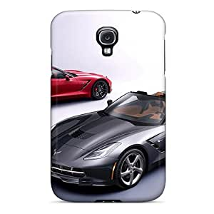 BreakFree Galaxy S4 Well-designed Hard Case Cover Stingray Convertible C7 Protector
