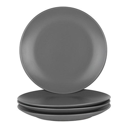 "10 Strawberry Street Wazee Matte - 10.5"" Coupe Dinner Plate"