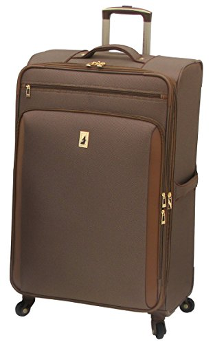 London Fog Kensington 29 Inch Expandable Spinner, Bronze, One Size by London Fog
