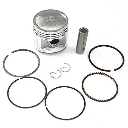 Amazon Com Yunshuo Piston Set 56 5mm Rings Kit For Honda Cg 125