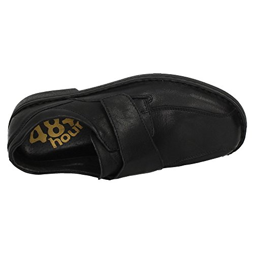 MOCASÍN Negro DE Mocasines 48 Hombre Piel 526303 Horas Zapatos 01 qxBvAa