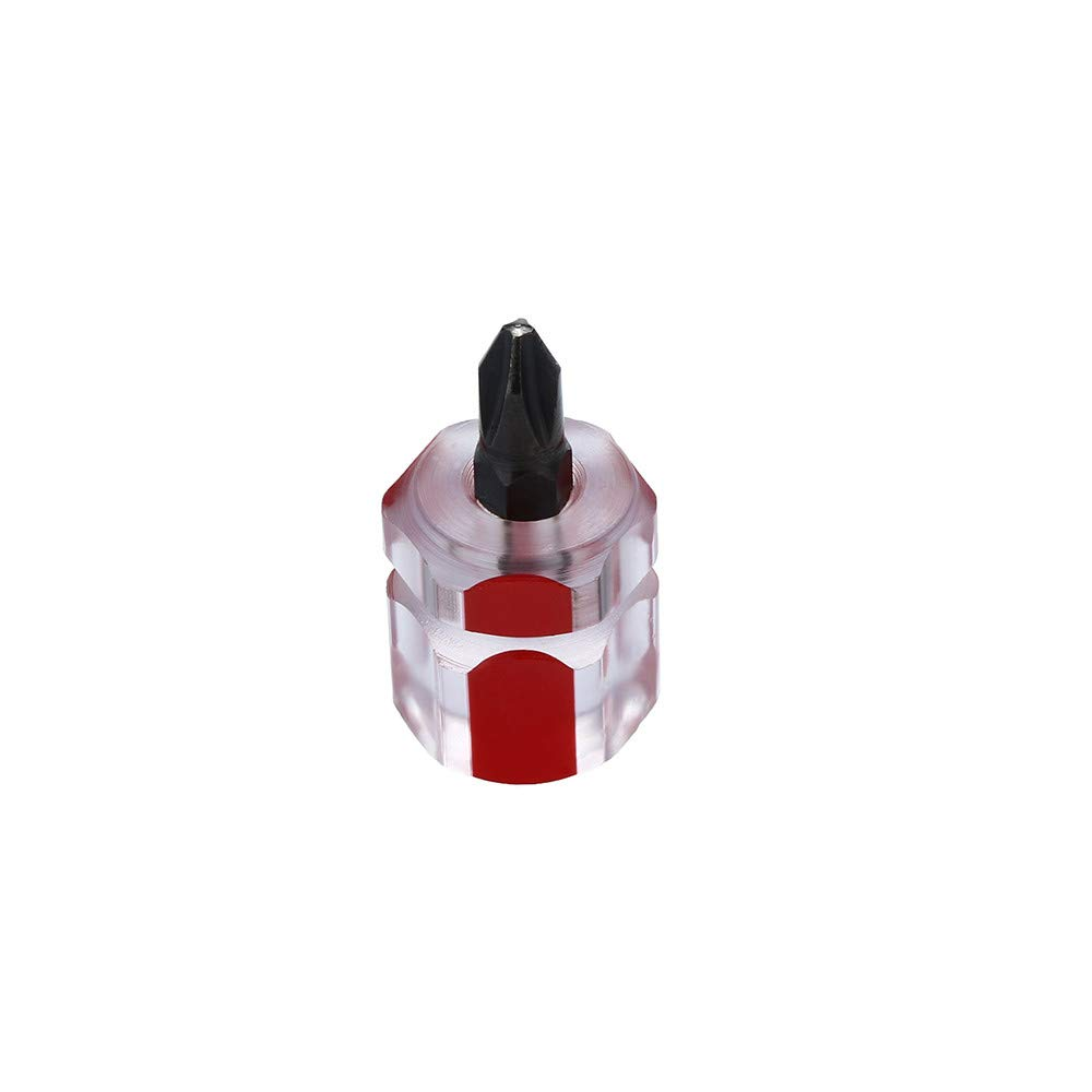 Xindda 2pcs/Set Mini Short Stubby Phillips Slotted Screwdriver Tools Kit Set Useful by Xindda (Image #9)
