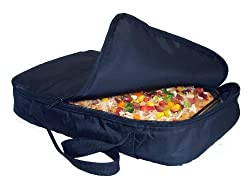 Casserole Carrier and Food Warmer - Portable Travel Casserole Tote (Holds up to 11x17 Casserole - Keeps warm up to one hour)