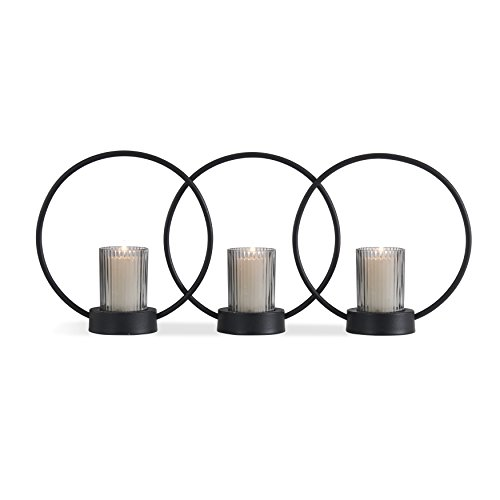 Danya B. Set of 3 Ring Votive Candle-Holders (Candle Ring Votive)