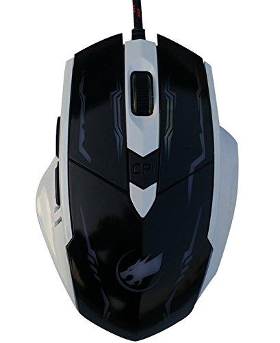 High Precision DPI Symmetrical optische USB-Maus verkabelt mit 6 Tasten Gaming Mouse, Ergonomische Mäuse für Pro Gamer