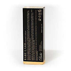 Babe Lash Eyelash Serum 2mL POWERFUL Brow & Lash Enhancing Formula for Beautiful, Strong Lashes
