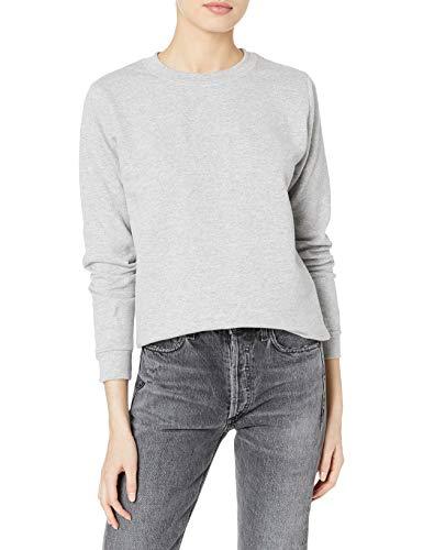 Gildan Women's Crewneck Sweatshirt, Sport Grey, Large