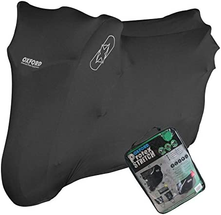 HONDA CB1000R Oxford Protex Stretch Motorcycle Breathable Dust Cover Bike Black