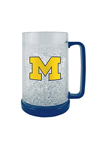 Michigan Wolverines 16 oz Logo Freezer Mug