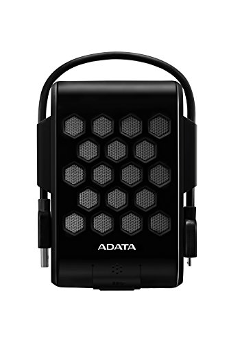 ADATA HD720 2TB USB 3.0 Waterproof/ Dustproof/ Shock-Resistant External Hard Drive, Black (AHD720-2TU3-CBK) by ADATA USA