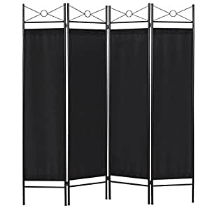 Amazoncom Best Choice Products Home Accents 4 Panel Room Divider