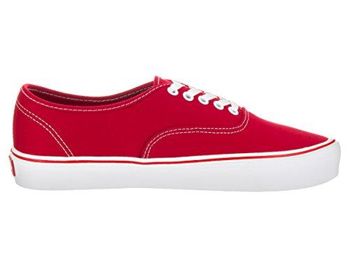 Vans Unisex Autentico Lite (tela) Scarpa Da Skate Rosso