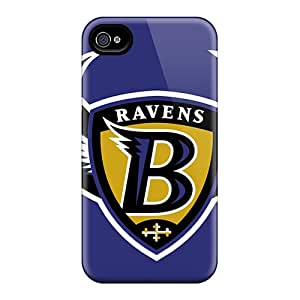 Anti-Scratch Hard Cell-phone Case For Iphone 6 (juN9580UpAB) Allow Personal Design HD Baltimore Ravens Skin