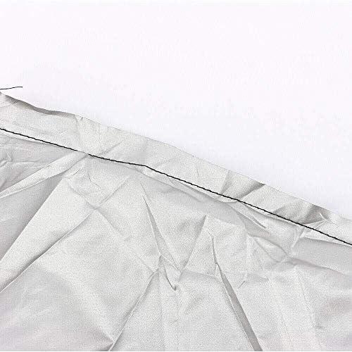 家具カバー 防水L形の家具カバー屋外ガーデンラタンコーナーソファ保護 ダストバッグ (Size : 286x286x82cm)