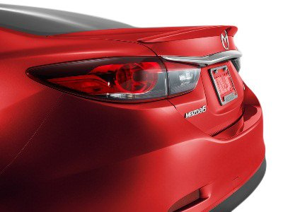 Painted Oem Style Spoiler Wing - Factory Style Spoiler for the Mazda 6 Painted in the Factory Paint Code of Your Choice 537 45P with 3M tape included