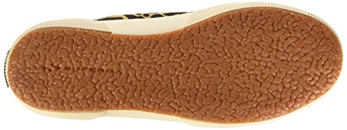 Fow Superga Unisex Sneaker 2750 adulto dk Leahorseu Beige Brown apwp78xqFn
