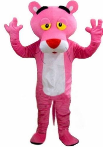 Kooplus Pink Panther Mascot Costume Cartoon Costume -