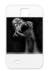 Illustration Art Design Scream Black Protective Hard Case For Sumsang Galaxy S4