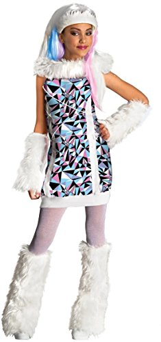 Abbey Bominable Girl's Monster High Costume Wig