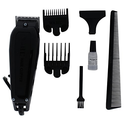 Wahl Professional Basic Home Clipper Kit #8640-500 – Powerful Clipper for Full Haircuts or Touch-Ups – Accessories Included