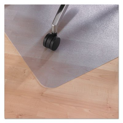 EcoTex Revolutionmat Recycled Chair Mat for Hard Floors, 48 x 36, with Lip (5 Pack)