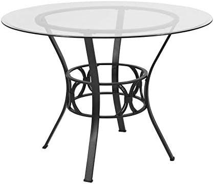 Flash Furniture Carlisle 42'' Round Glass Dining Table