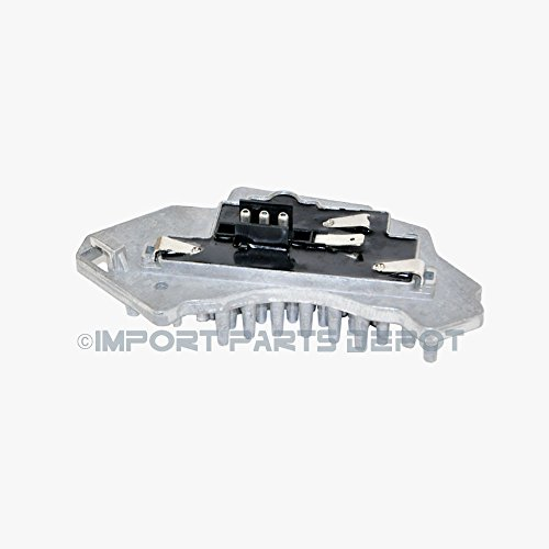 (Mercedes-Benz AC Blower Motor Regulator Resistor Behr Hella OEM 2108214651 E320 E430 E55)