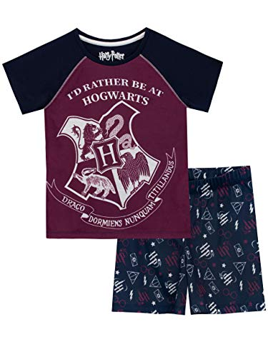 Short Harry Potter Pyjamas Gryffindor Captain 07 Pjs Ages 7 to 15 Years