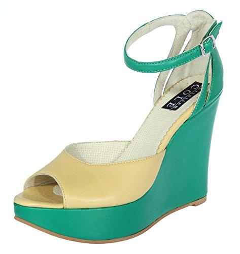 Tacco Cole Verde Donna Col Scarpe Christian 8tdxqw6w1