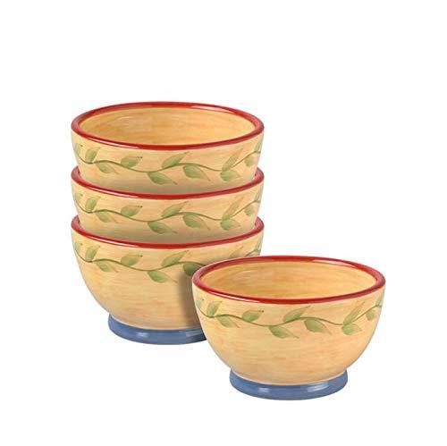 Pfaltzgraff Napoli Dessert Bowls, Set of - Earthenware Pfaltzgraff Bowls