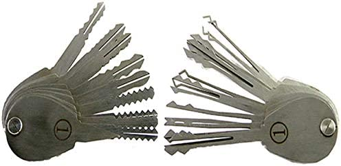 DBH 20/pcs pliable de crochetage de serrure Master Key pour moto Serrure civile Lock Auto Lock