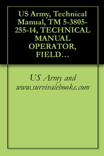 US Army, Technical Manual, TM 5-3805-255-14, TECHNICAL MANUAL OPERATOR, FIELD, AND SUSTAINMENT MAINTENANCE MANUAL FOR LOADER, SCOOP TYPE, DED 4 X 4, ARTICULATED ... BUCKET (NSN 3805-01-052-9043) (EIC: EFS)