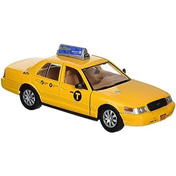 675cef8696bc1 Daron New York City Taxi 1/24 Die-Cast