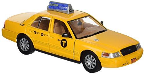 Taxi Cast - Daron New York City Taxi 1/24 Die-Cast