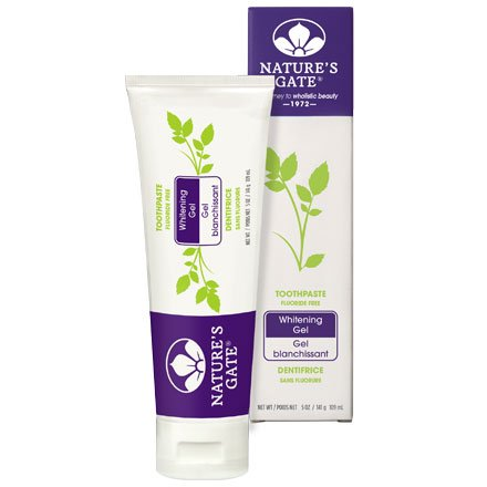 Nature's Gate Natural Toothpaste, Whitening Gel 5 oz (141 - Natures Gel Whitening Gate